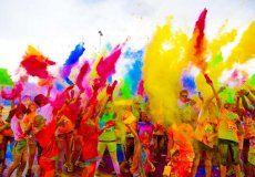 May 14 will be held at the Antalya Festival of colors.
