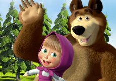 """Masha and Bear"": interactive animation in Turkish cinemas."