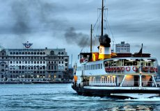 In Istanbul, through the Bosporus, additional ferries have been launched.