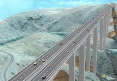 Between Alanya and Konya will build a bridge.