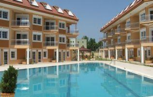 Двухэтажные квартиры - дуплексы в  центре Кемера