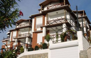 Luxury villas with sea view. Property in Alanya