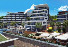 Luxury residental complex with a great panorama of the Mediterranean in Konakli! - 77