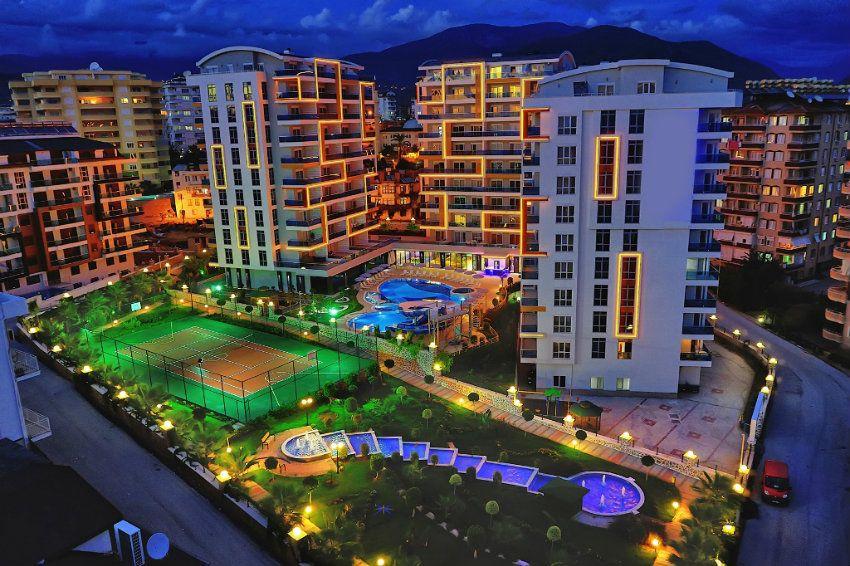 Luxurious modern complex near the beach, installments up to 24 months, Tosmur, Alanya
