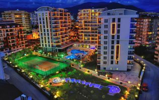 Luxurious modern complex near the beach, installments up to 24 months, Tosmur, Alanya