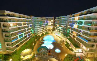 Аренда квартиры с видом на море в роскошном комплексе, Авсаллар, Аланья