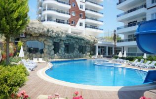 Spacious 2 bedroom apartment in a new residence, Avsallar, Alanya
