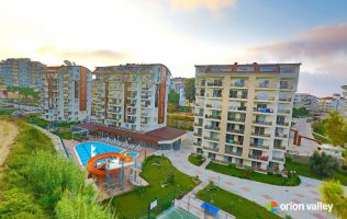 Unique complex with a wonderful view over the Mediterranean Sea in Avsallar. New investment project. Holiday apartments in Avsallar Alanya.