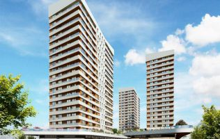 Investment project in the city center, with installments for 2 years, Baggilar, Istanbul