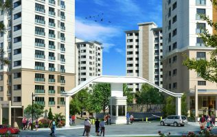 Investment project, large apartments in a new area, Bachaksehir, Istanbul