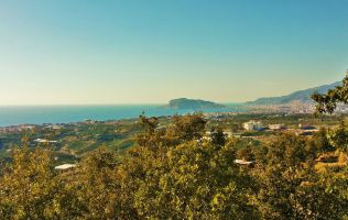 Land for sale in Alanya, breathtaking seaview, Kestel