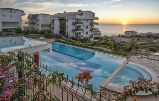 Exclusive seaview apartments located on the hill, Konakli, Alanya