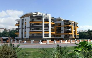 Investment project in Antalya, quality low-cost apartments in the Lyman area