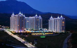 1 bedroom apartment for rent in luxury AZURA PARK, Alanya