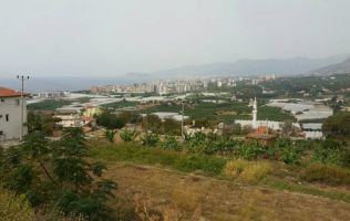 Land for sale for villa's residential development in Kargicak, Alanya