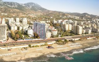 Apartments in a new beachfront project with wonderful seaview, Mahmutlar, Alanya