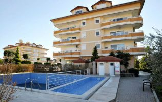 Large apartment 3 + 1 in one of the elite complexes in Oba, Alanya