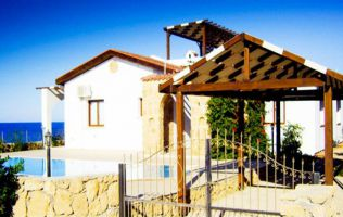 Three bedroom villa 100 m from the Mediterranean Sea, Kyrenia, North Cyprus