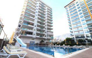 new modern residence furnished 1+1 apartment, Mahmutlar, Alanya.
