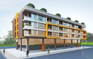 New apartments in a modern complex with landscape design, Konyaalti, Antalya