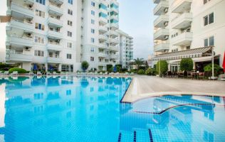 Spacious apartments in a modern residential complex, 200 m from the Mediterranean Sea.