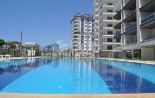 New residental complex in Mahmutlar. Apartments and penthouses for sale at the best price.