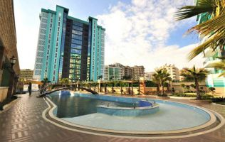 Attention! The price is reduced by 11%! New apartment 1 + 1 in a secure complex with a luxury design, p Mahmutlar, Alanya