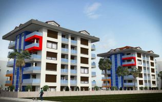 A completely new profitable project in the Kestel area on the Mediterranean coast