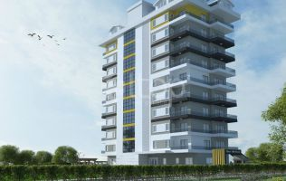 Apartments in Alanya with payment by installments in a newly built complex