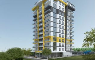 Investment project! New apartments in Alanya with payment by installments