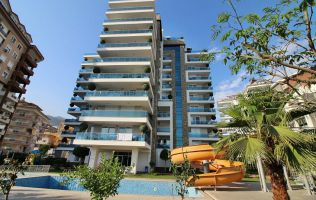 Fully-furnitured one-bedroom apartment in Alanya, Cikcilli
