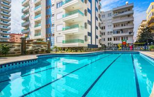 Fully-furnitured one-bedroom apartment in Alanya by the sea