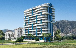 New off-plan project with interest-free installment payment plan in Mahmutlar!