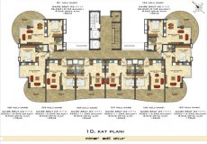 New off-plan project with interest-free installment payment plan in Mahmutlar! - 24