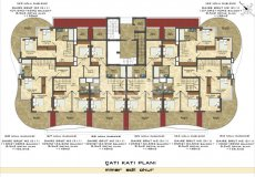 New off-plan project with interest-free installment payment plan in Mahmutlar! - 26