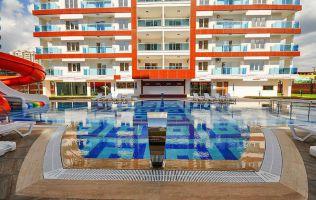 Fully-furnitured one-bedroom apartment in Mahmutlar / Alanya