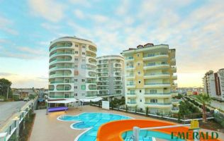 Fully furniture one-bedroom apartment in a wonderful project in Avsallar/Alanya