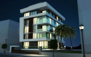 Off-plan project near Cleopatra beach in Alanya center