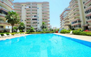 Penthouse apartment with the view of the sea in the center of Mahmutlar/Alanya