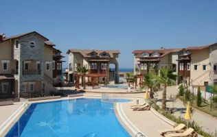 One-bedroom apartment with the view of the sea at affordable price in Avsallar/Alanya