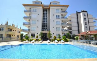Fully-furnished one-bedroom apartment at the seaside in Kestel/Alanya