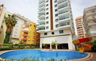 Апартаменты 1+1 в новом комплексе с инфраструктурой в Махмутларе