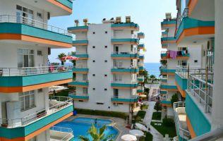 Furnished apartment at the seaside in Alanya, Mahmutlar