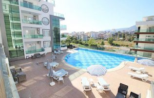 FIRE SALE! One-bedroom furnished apartment in a lux residence, Alanay/Kestel