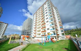 One-bedroom apartment with a big area in a new residence in Alanya/Mahmutlar