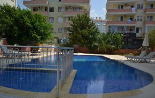 Fully furnished 2-bedroom apartment in Alanya/Mahmutlar