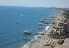 Land for sale in Alanya, Konakli with sea and mountain views. - 1