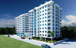 Investment project of high quality development in Alanya, Mahmutlar