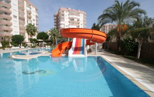 Furnished 2+1 apartment in Tosmur, Alanya