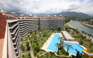 Fully-furnished apartment in Alanya/Tosmur, Dimcay river